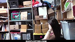 Shoplyfter - Teen Gets Hardfuck Punishment For Stealing